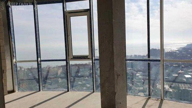 1 комнатная квартира 44 кв.м. Прямой Вид на Море 16 Фонтана