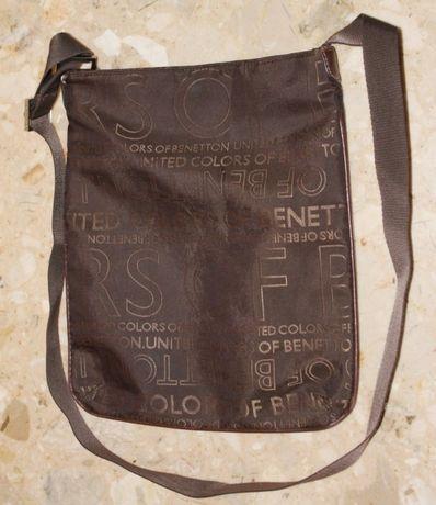 сумка кросс боди united colors of benetton ткань искуственная кожа