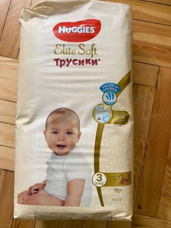 Трусики Хаггис Элит Софт 4, Huggies Elite soft 4 (6-11 кг.) 54 шт.