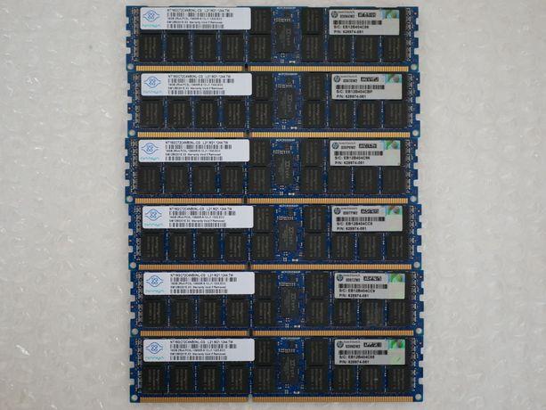 Серверная оперативная память 16 Гб DDR3 ECC PC3L-10600R 1333