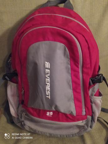 Everest plecak turystyczny dwukomorowy 25 L