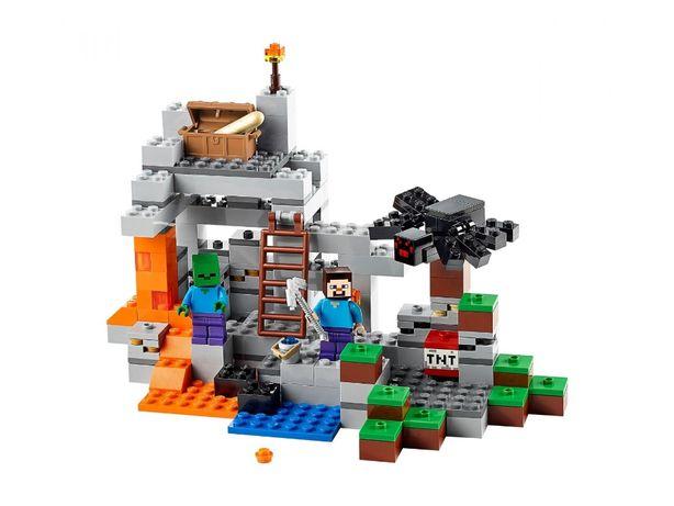 Klocki LEGO MINECRAFT 21113 MIXELS 41503 2 komplety