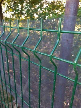 Panele ogrodzeniowe 1,23m, Fi4 komplet bez podmurówki, Dostawa, Montaż