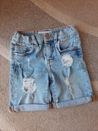 Spodenki Zara jeansowe