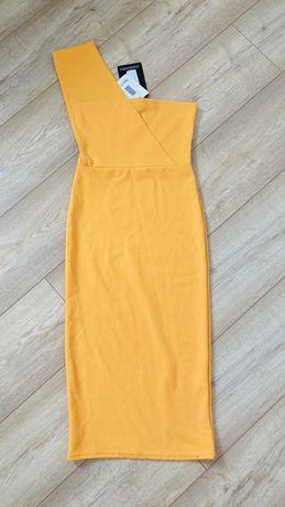 Zjawiskowa sukienka na jedno ramie