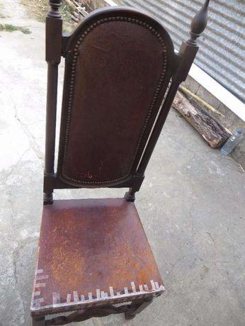 Cadeira em mogno