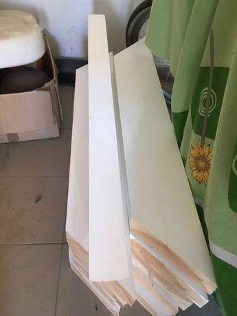 kantówka skosy belki konstrukcyjne 100x15x7cm 12 szt.