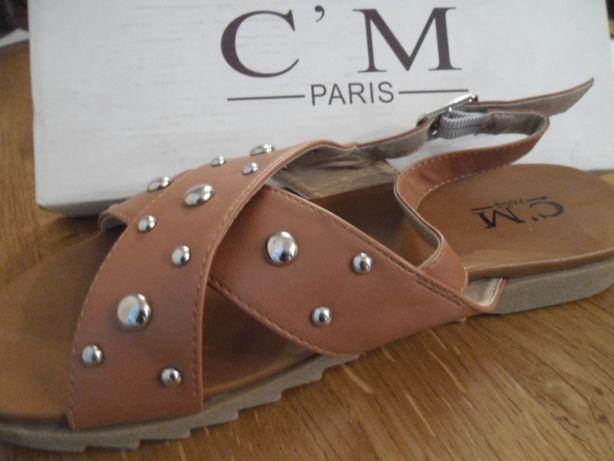 nowe sandały C'M PARIS r.39