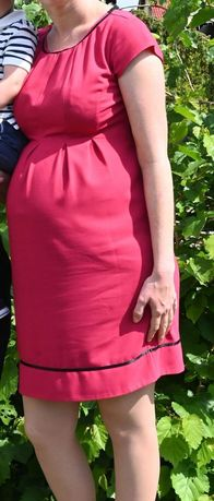 Elegancka  wyjściowa sukienka ciążowa happymum M