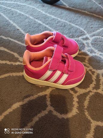 Adidas buty różowe dziewczęce