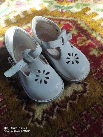 Кожаные туфли 23