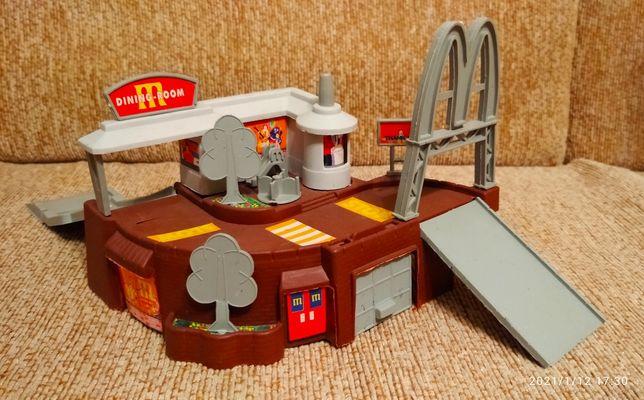 Макдональдс, конструктор, игровой набор, машинки