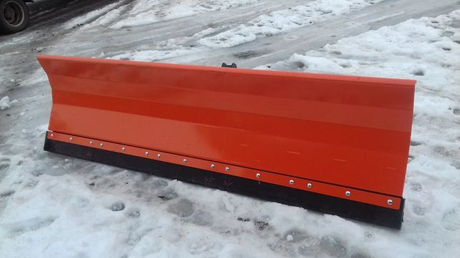 MASYWNY pług śnieżny śniegu BLACHA 4mm / na euro TUZ c360 c330