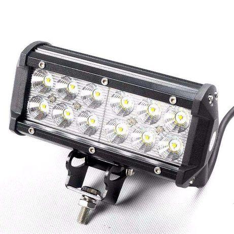 Barra led 36 watt 3612F com 3100 lumens (Espalhador) + KIT CABLAGEM