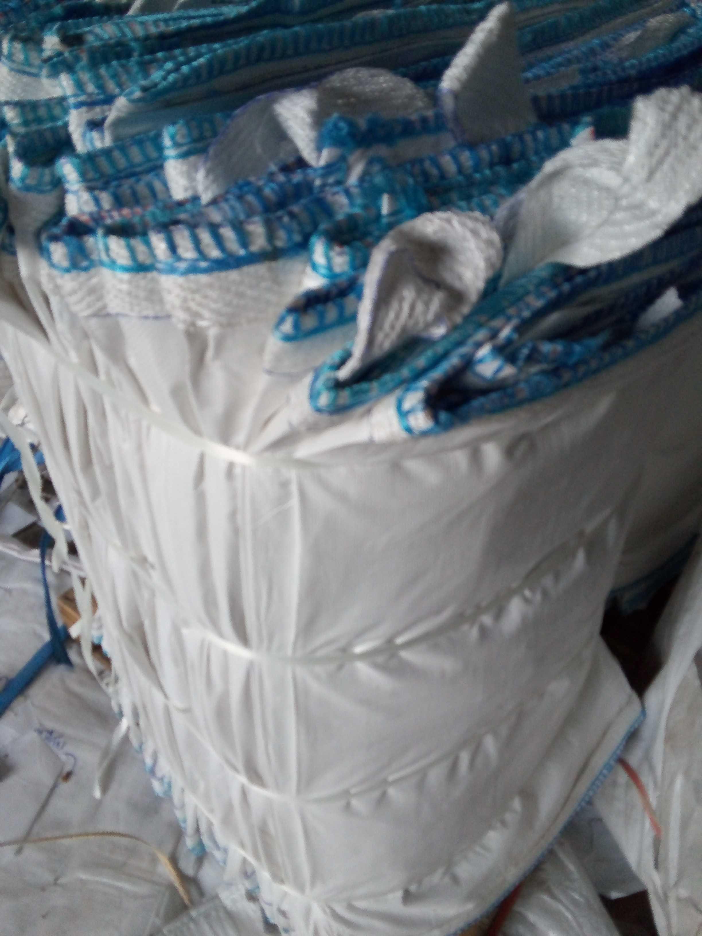 Używane worki big bag beg 90/90/150 cm do złomu/metali kolorowych