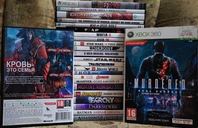 Игры на Xbox 360 по 65грн