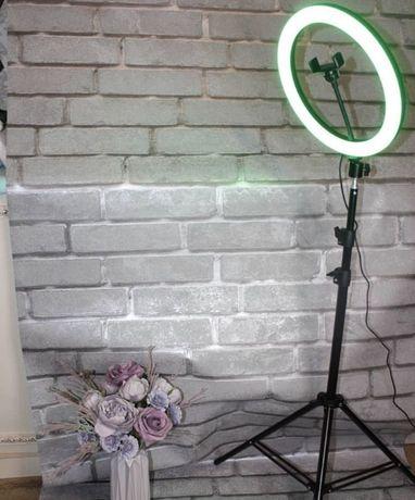 Kольцeвaя LED-лaмпа Ring Fill Light c диаметром 30 cм + штатив 210см