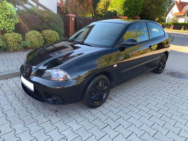 SEAT IBIZA climatronic ! 2009 rok ! 1.4 benzyna ! czarny ŁADNY !