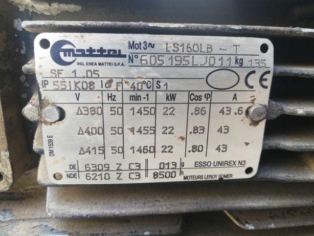 Motor eletrico trifásico 22Kw (30 cv )