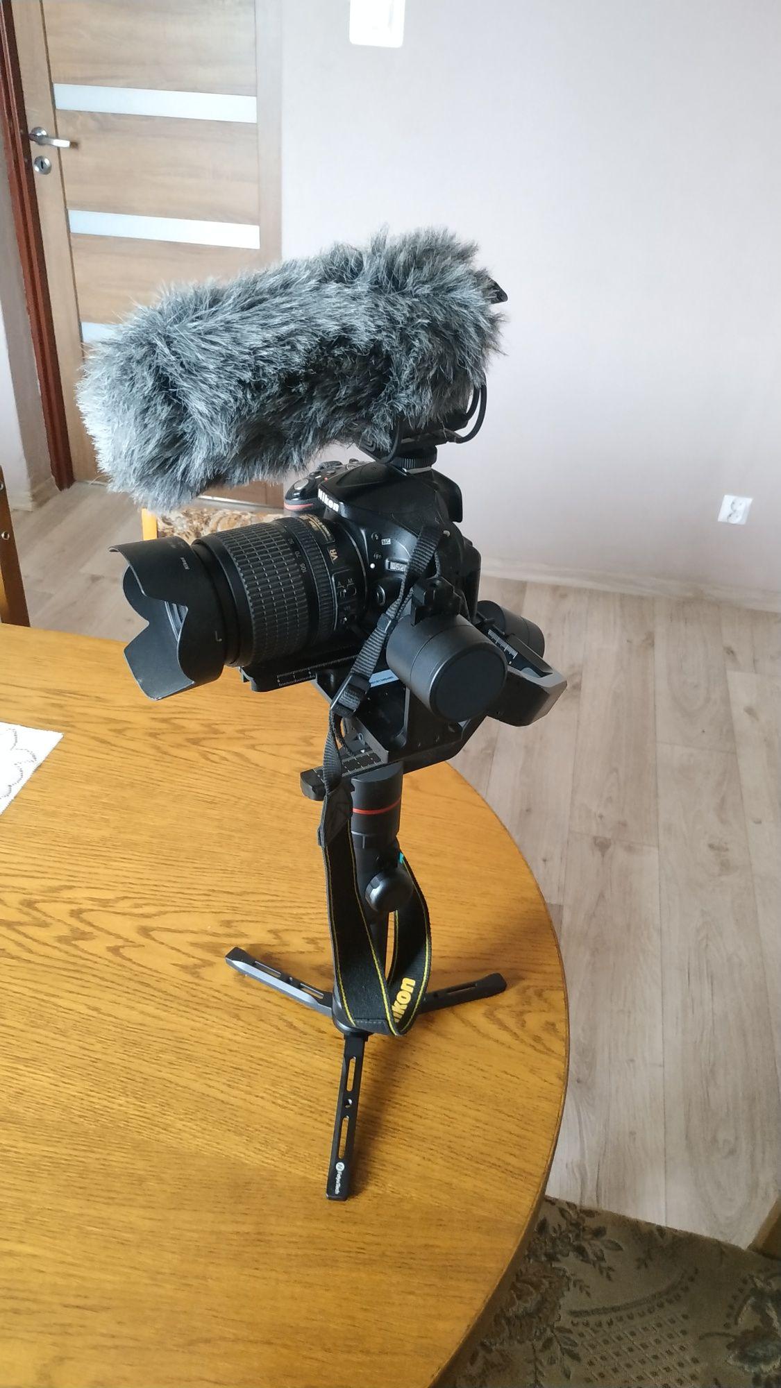Gimbal AK 2000+ Nikon D5200+ micro+gratisy