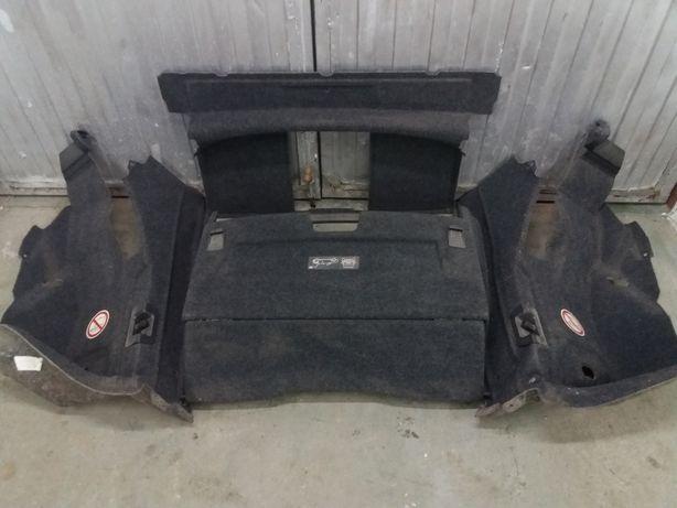 Wnętrze bagażnika wykładzina dywany Vw Eos 2007r Cabrio