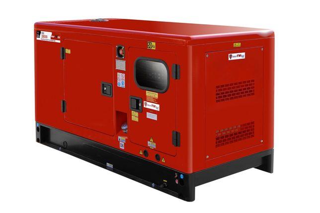 Дизельний генератор 4R- 28кВa 3фаз KRAFTWELE SUPER SILENT- Доставка