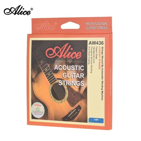 Струны для акустической гитары Alice AW436-L 6 струн