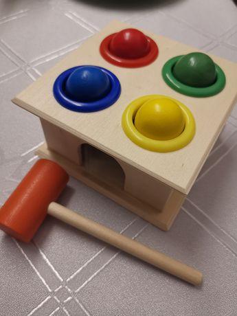 Przebijanka drewniana dla dzieci