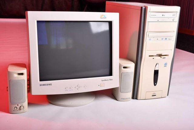 Компьютер, Системный блок и Монитор