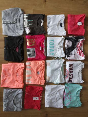 Koszulki dziewczęce 134