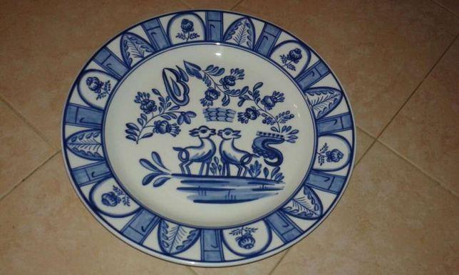 Prato decorativo louça de Viana
