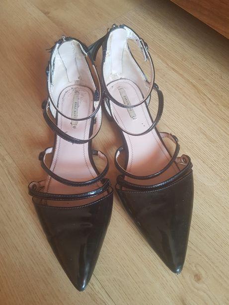 Sandały Zara 38 paski