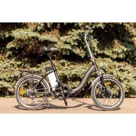 Велосипед электрический, складной и невероятно удобный JOY New