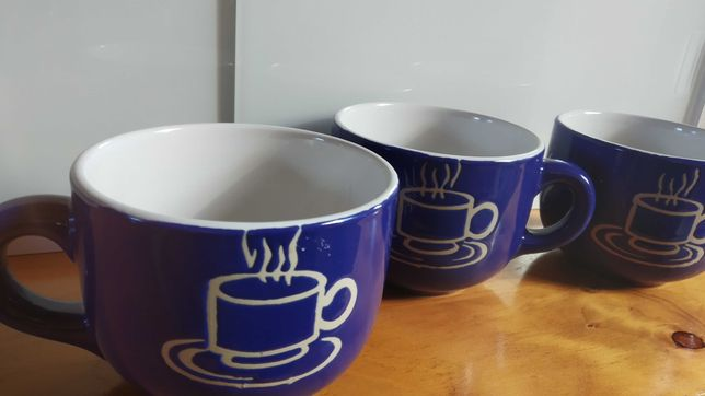Chávenas grande capacidade