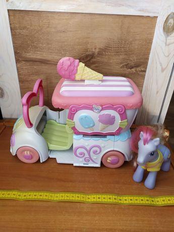 Машина морозива. My little pony.