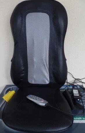 Cadeira de massagem com shiatsu