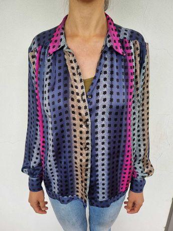 Blusa colorida vintage