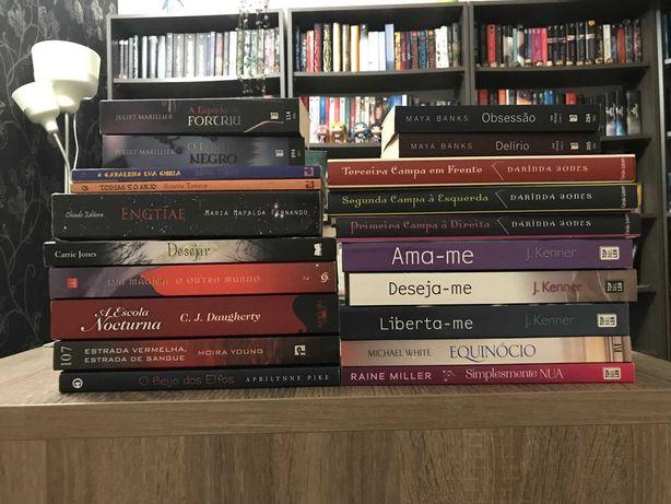 Livros em português - vários preços