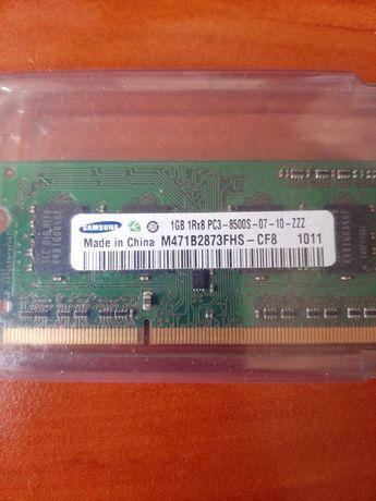 Оперативная память SODIMM DDR3 Samsung 3GB (2+1)