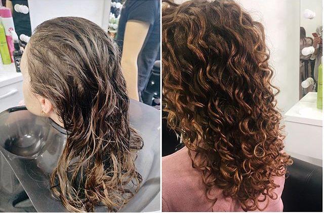 Био-завивка для волос