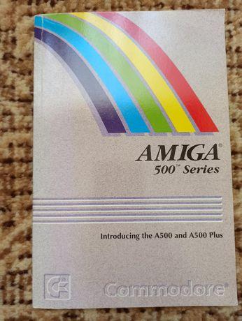 Komputer Amiga 500, 500+ instrukcja obsługi w bardzo dobrym stanie