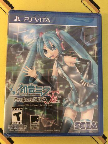 Hatsune Miku Project DIVA F2nd PSV PS Vita