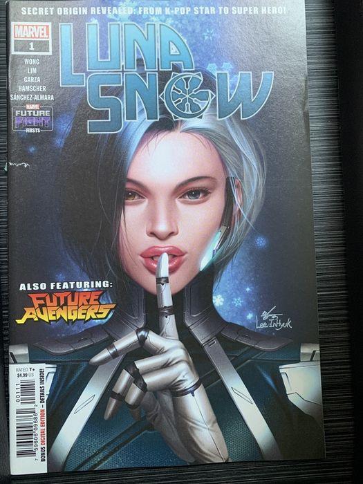Комикс Luna Snow от Marvel (будущие Мстители)! Киев - изображение 1