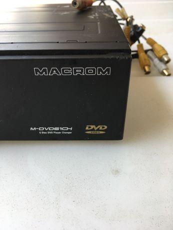 Caixa de DVD'S (6) Macrom + interface (Mercedes) + camâra de MA