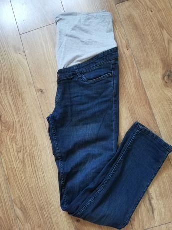 Jeansy ciążowe 42