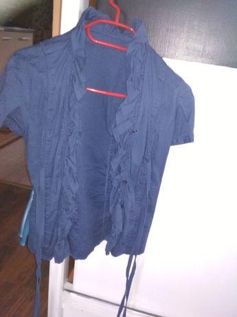 Bluzeczka granatowa