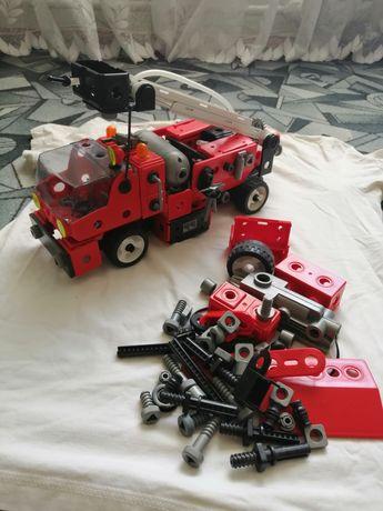 Большой конструктор робот пожарная машина Электрическая
