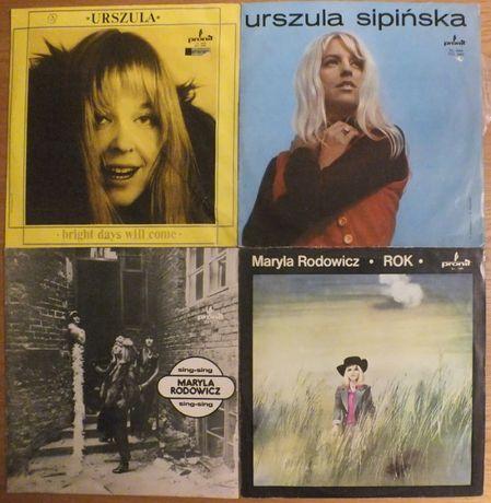Płyty winylowe Maryli Rodowicz i Urszuli Sipińskiej pakiet 4LP za 80zł