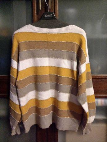 Sweter l/xl 4 kolorowy