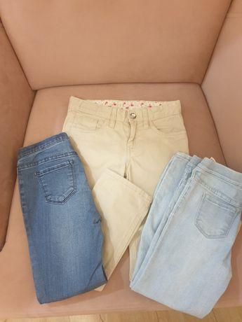 3 pary spodni H&M rozmiar 110